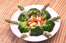 Broccoli-with-Bamboo-Pith-&-Asparagus